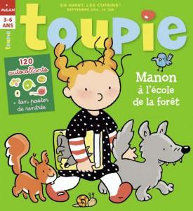 Toupie : Manon à l'école de la forêt - Septembre 2014