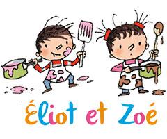 eliot et Zoe héros enfant maternelle