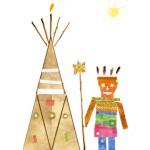 Alizee dessin indien enfant concours
