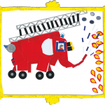 Amory camion pompier concours dessins