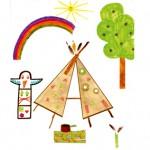Anais dessin indien enfant concours