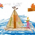 Arthur dessin indien enfant concours
