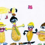 Coralie dessin enfant concours maternelle