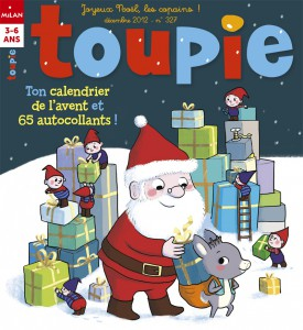 Toupie Magazine noel enfant magie