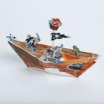 Eleina bateau pirate enfant tuto
