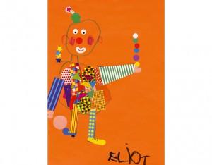 Eliot clown dessin concours