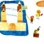 nourriture dessin enfant