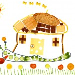 Louka nourriture dessin enfant