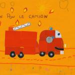 Margaux camion pompier concours dessins