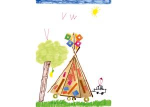 Margot dessin indien enfant concours