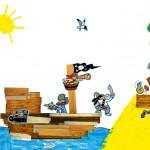 Mathieu bateau pirate enfant concours