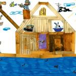 Mayline dessin bateau pirate enfant concours
