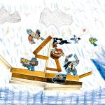 Pierre dessin bateau pirate enfant concours