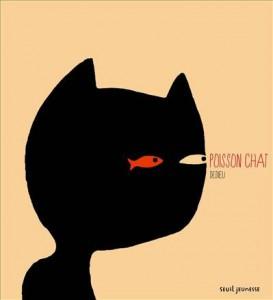 Poisson chat livre enfant bibliothèque