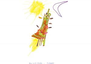Titouan dessin indien enfant concours