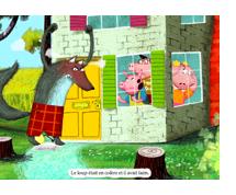 Trois cochons livre conte enfant
