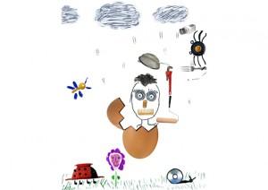 Zoe oeuf concours dessin