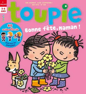 Toupie magazine numéro 368 mai 2016 fête maman