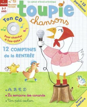 Toupie chansons magazine numéro 19