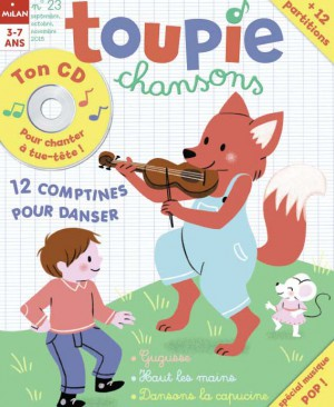 Toupie Chansons comptines 23 danser