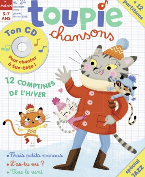 Toupie Chansons comptines 24 hiver