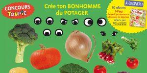 Concours Toupie Crée ton bonhomme du potager