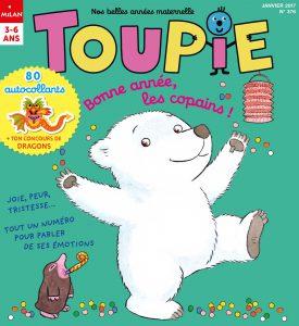 Bonne année les copains ! Toupie Magazine, Janvier 2017