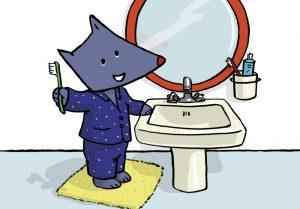 brosser les dents, hygiene,tiloulou, comptine