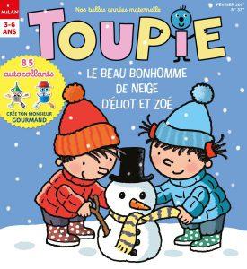 Le bonhomme de neige d'Eliot et Zoé - Toupie Magazine