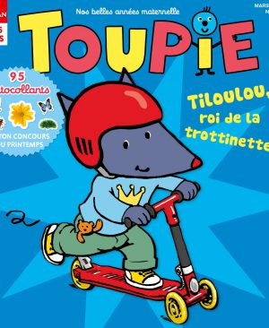 Tiloulou, roi de la trotinette dans Toupie - Mars 2017