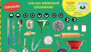 Concours autocollants Toupie Monsieur Gourmand