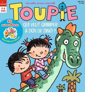 Toupie : qui veut grimper à dos de dinos ?
