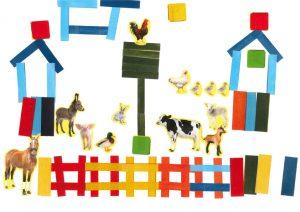 Perché sur son panneau, on dirait que le coq de Shana surveille tous les animaux !