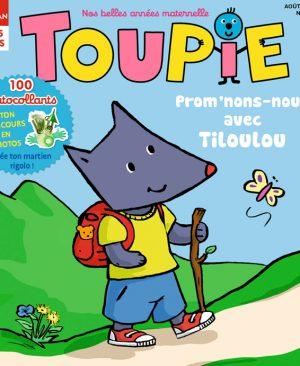 Couverture Toupie Magazine : Prom'nons-nous avec Tiloulou !
