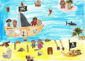 Elias, ton papi et ta mamie pirates sont vraiment trop mignons. Merci !