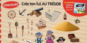 """Concours Toupie """"Créé ton île aux trésors"""""""