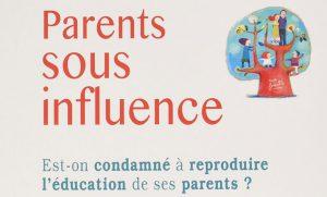 Extrait de la couverture du livre Parents sous influence
