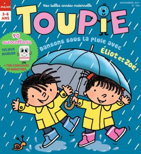 Dansons sous la pluie avec Éliot et Zoé ! Toupie magazine