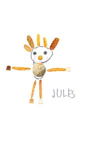 Merci, Jules, ton petit bonhomme est craquant.