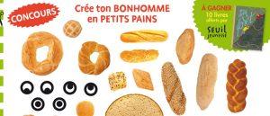"""Concours Toupie """"Créé leurs bonshommes en petits pains"""""""