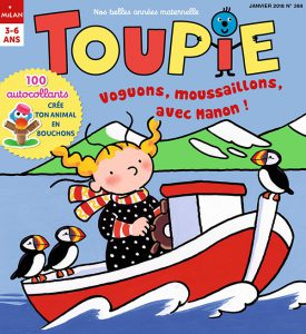 Voguons moussaillons avec Toupie !