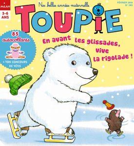 Toupie Magazine : attention ça glisse !
