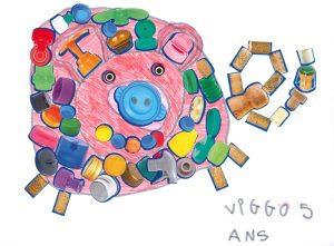 Bravo, Viggo ! Ton gros cochon rose est trop rigolo !