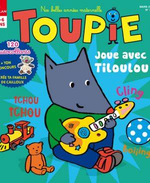 Joue avec Tiloulou dans le magazine Toupie du mois de Mars 2018