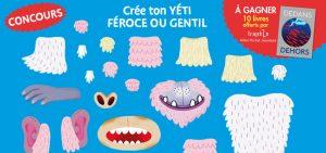 Concours de dessins Toupie - Yétis