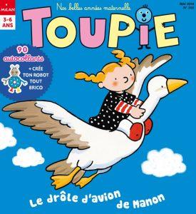 Le drôle d'avion de Manon - Toupie Magazine