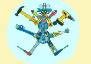 Merci, Elyanna, avec ses quatre bras articulés, ton robot nous a impressionnés.