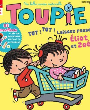 Toupie magazine : Tut-tut laissez passer Éliot et Zoé !