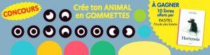 Concours Toupie : les animaux en gommettes