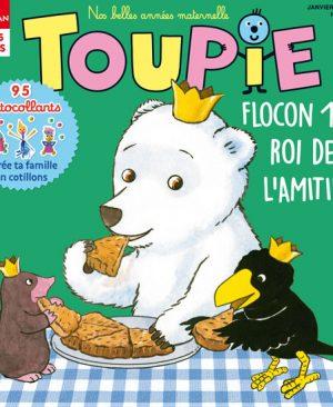 Toupie Magazine : Flocon, 1er roi de l'amitié